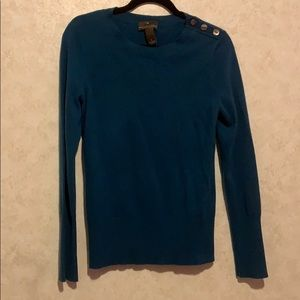 Fenn Wright Manson 100% cashmere button sweater